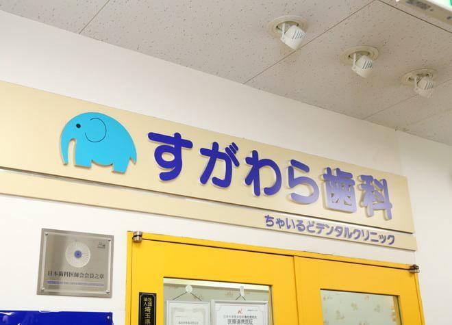 ふじみ野駅 西口徒歩 10分 すがわら歯科 ちゃいるどデンタルクリニックの外観写真5