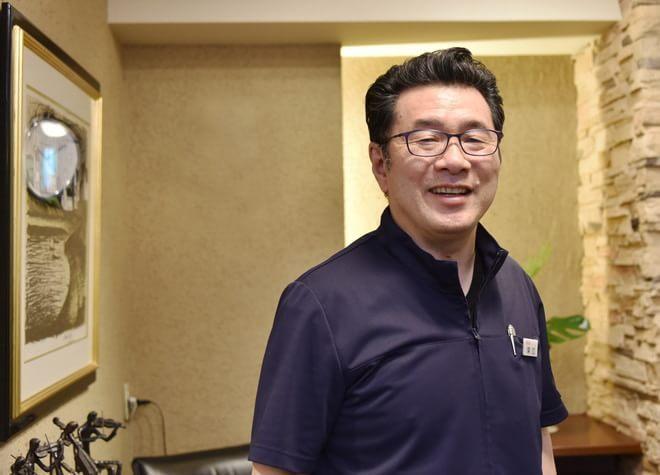 深江歯科クリニックの理事長先生