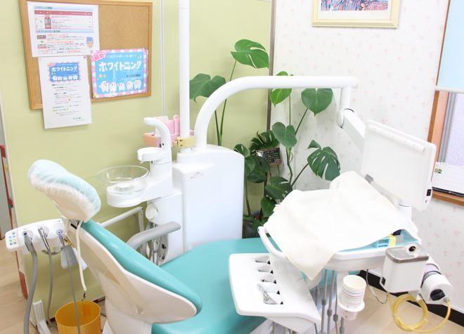 瑞江駅 南口徒歩 10分 おさない歯科の治療台写真7