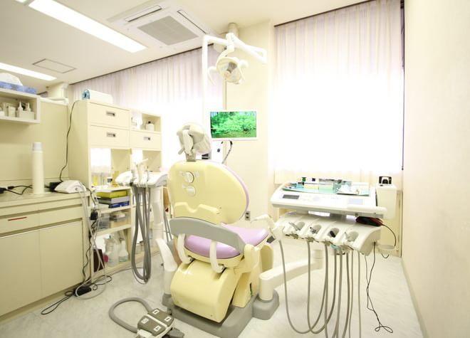 田神駅 徒歩5分 築山歯科医院の治療台写真4
