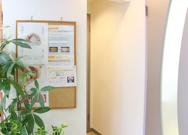 南浦和駅 東口徒歩3分 なのはな歯科の院内写真3