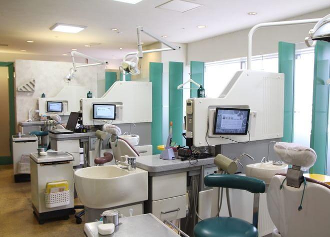 恵比寿駅 出口徒歩 1分 アトレ恵比寿6階歯科の診療台写真4