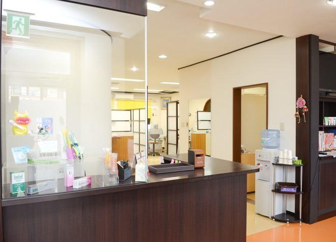 諏訪駅 出口車 11分 本川歯科医院の受付写真2