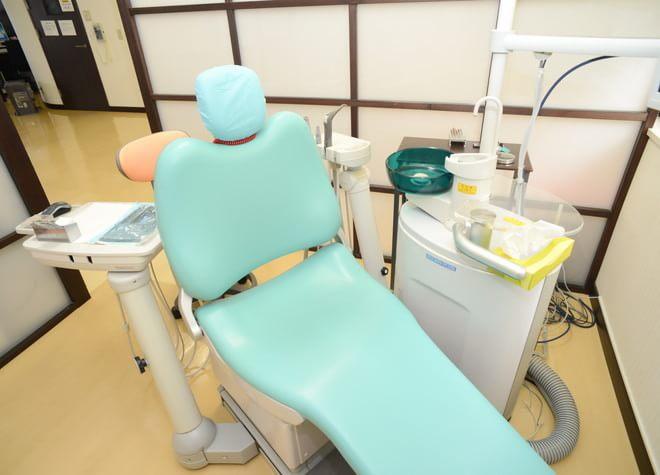 診療台の写真