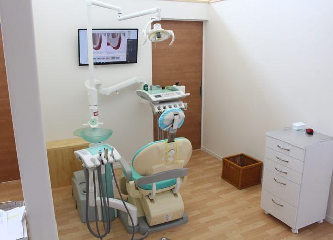 高の原駅 徒歩5分 きたおり歯科医院の治療台写真2