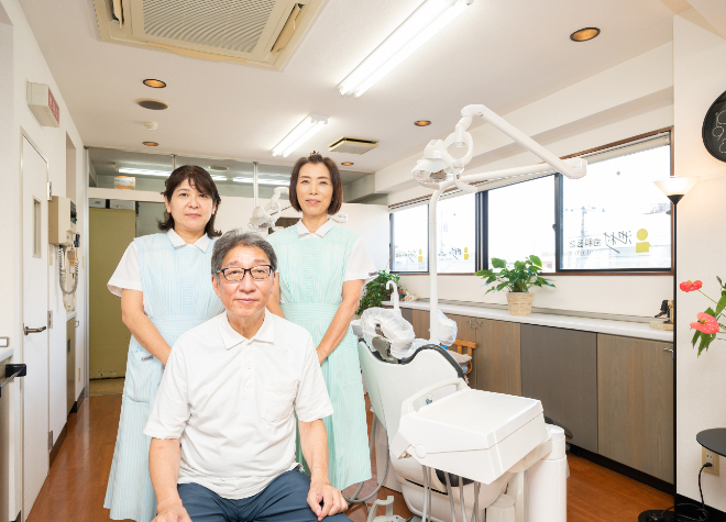 三軒茶屋駅 徒歩1分 池村歯科医院のスタッフ写真3