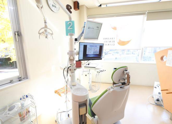 博多駅 出口徒歩 16分 たかの歯科クリニックの治療台写真2