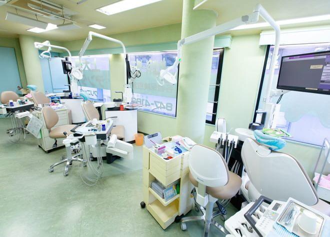 上大岡駅 出口2徒歩 2分 上大岡デンタルクリニックの治療台写真5
