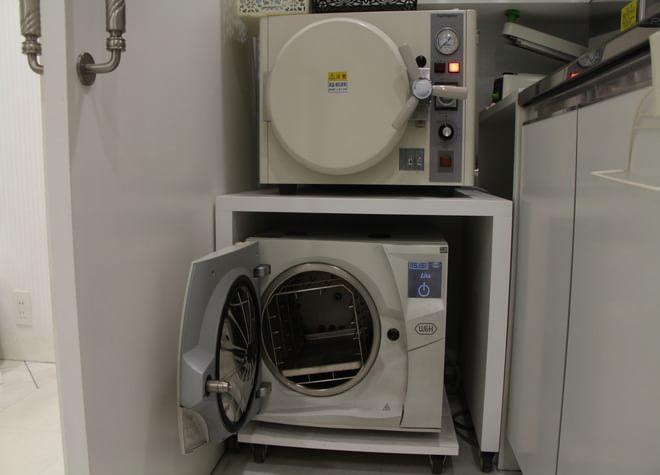 滅菌器を導入!衛生管理を行い過ごしやすい環境作り