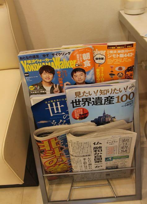 日本大通り駅 2番出口徒歩 3分 あおぞら歯科(横浜市中区)の院内写真2