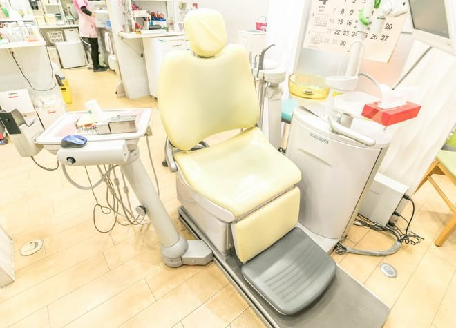 本蓮沼駅 A3出口徒歩 1分 仁愛歯科クリニックの治療台写真7