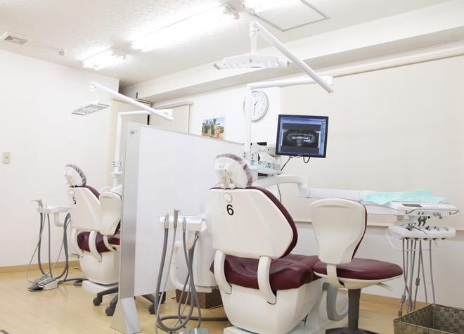 昭島駅 南口徒歩 1分 聖和歯科クリニックの治療台写真6