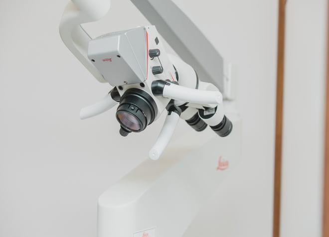 歯科用CTやマイクロスコープで視野を広げた詳細な診断