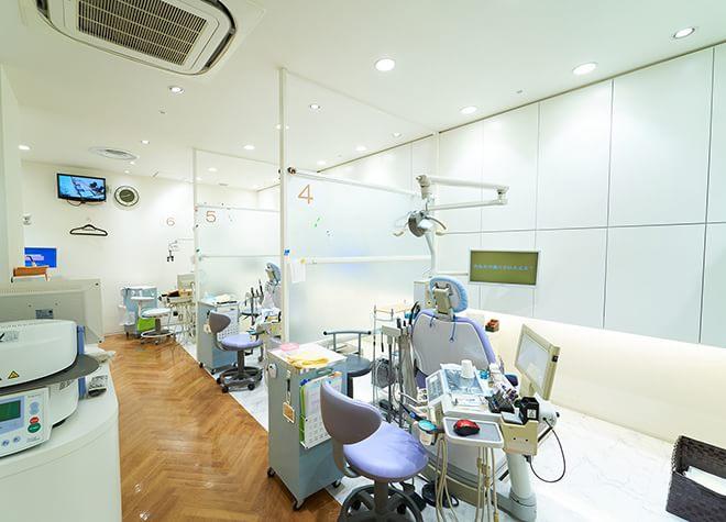 上野広小路駅 松坂屋前徒歩 1分 マツザカヤデンタルクリニックの治療台写真5