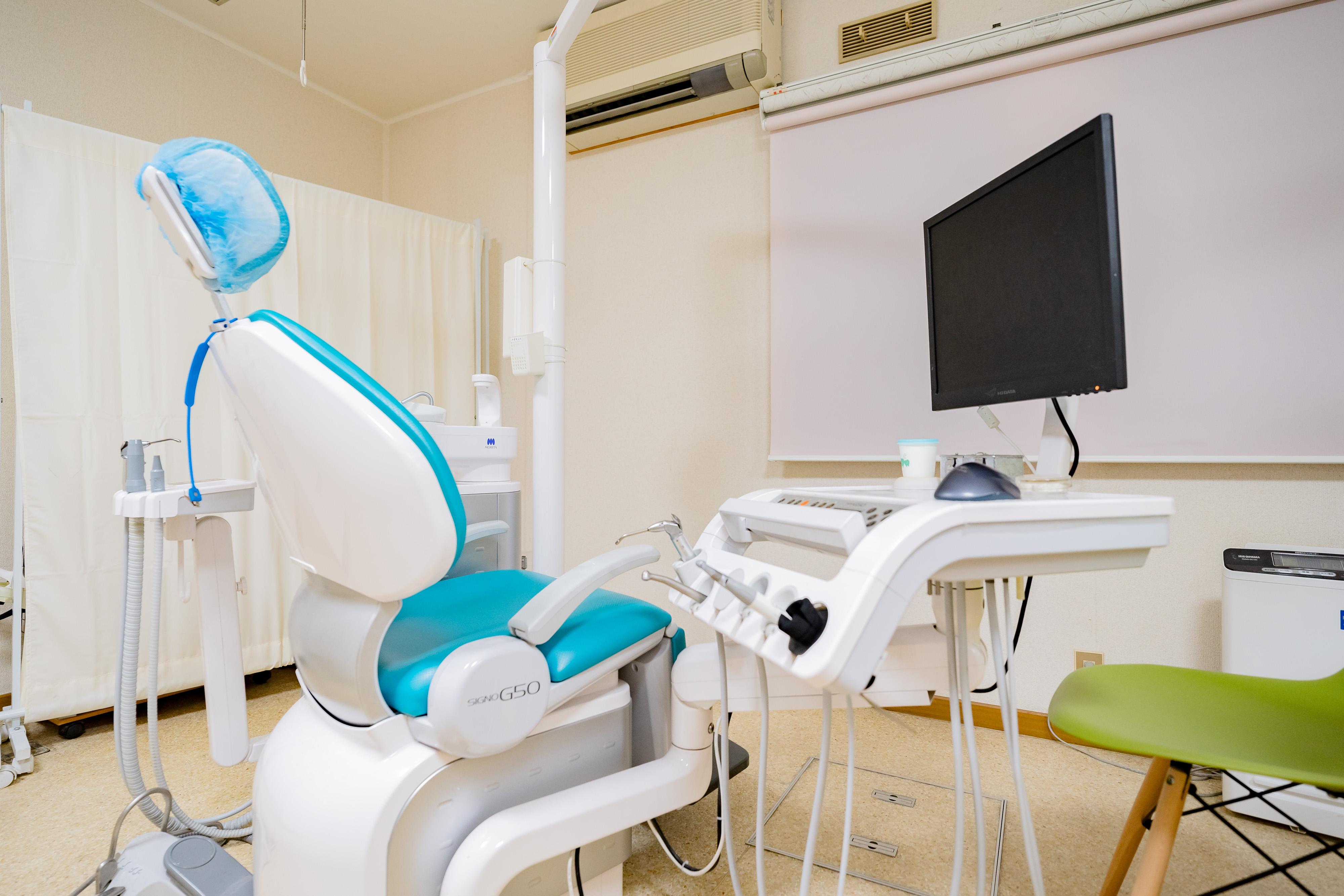 京王多摩川駅 出入口徒歩 4分 大山歯科医院の治療台写真7