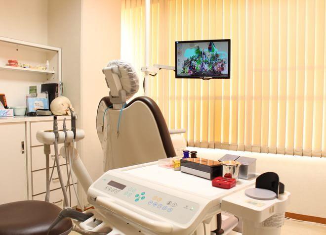 草津駅(滋賀県) 西口徒歩 7分 戸﨑歯科の治療台写真4