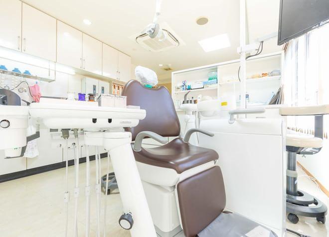 草津駅(滋賀県) 西口徒歩 7分 戸﨑歯科の治療台写真3