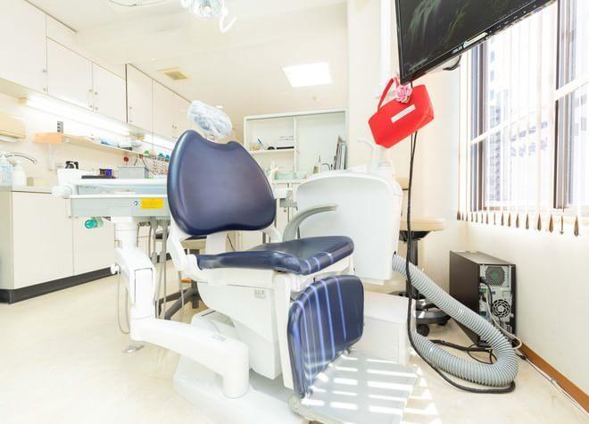 草津駅(滋賀県) 西口徒歩 7分 戸﨑歯科の治療台写真7