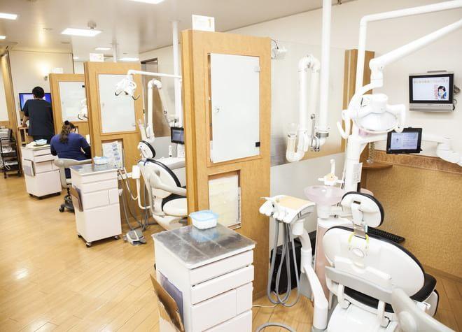 香里園駅出口4 徒歩2分 坂井歯科医院の治療台写真3