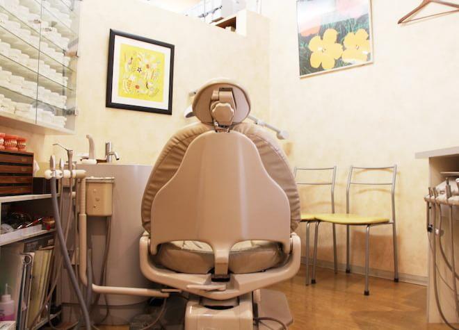 渋谷駅 徒歩2分  ティースアート矯正歯科 渋谷の治療台写真7