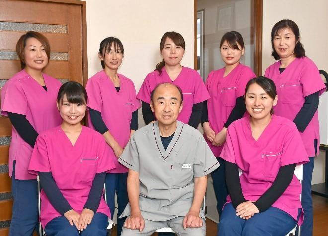 天童駅 東出口徒歩18分 とがし歯科医院のスタッフ写真1