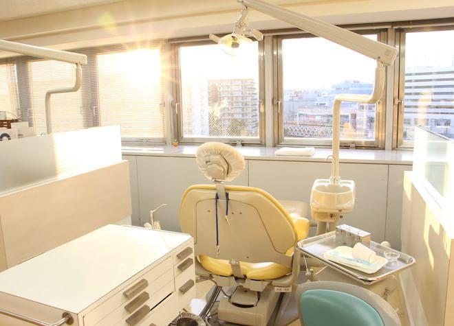 横浜駅 東口徒歩2分 サン横浜歯科矯正クリニックの治療台写真6