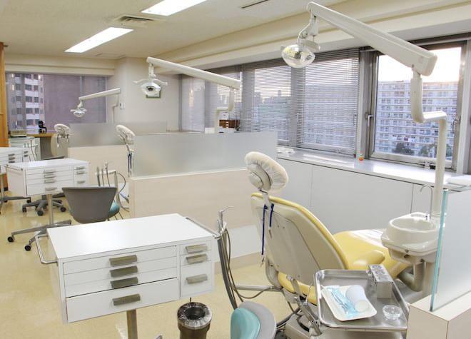 横浜駅 東口徒歩2分 サン横浜歯科矯正クリニックの治療台写真7