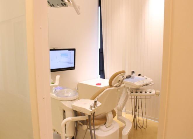 プライバシーに配慮!広い個室で診療