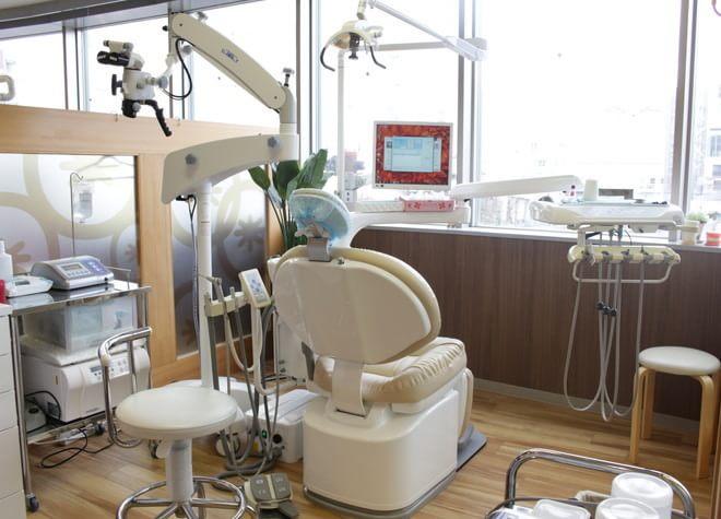 センター北駅 出口徒歩 3分 センター北駅前歯科の治療台写真3