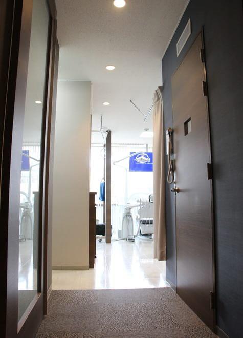 天王寺駅 出入口徒歩 3分 かました歯科の院内写真3