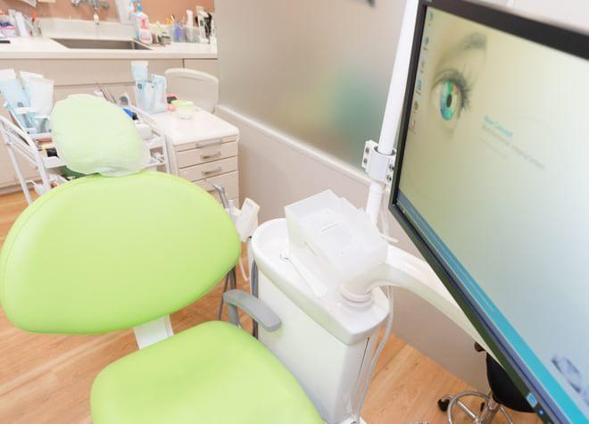 川越駅 東口徒歩5分 クレア大橋歯科の治療台写真5