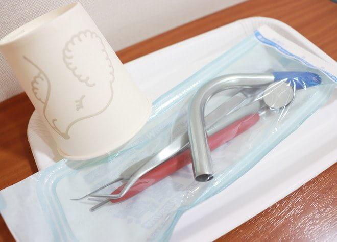 器具を清潔に管理!口腔外バキュームで空気感染も防ぐ