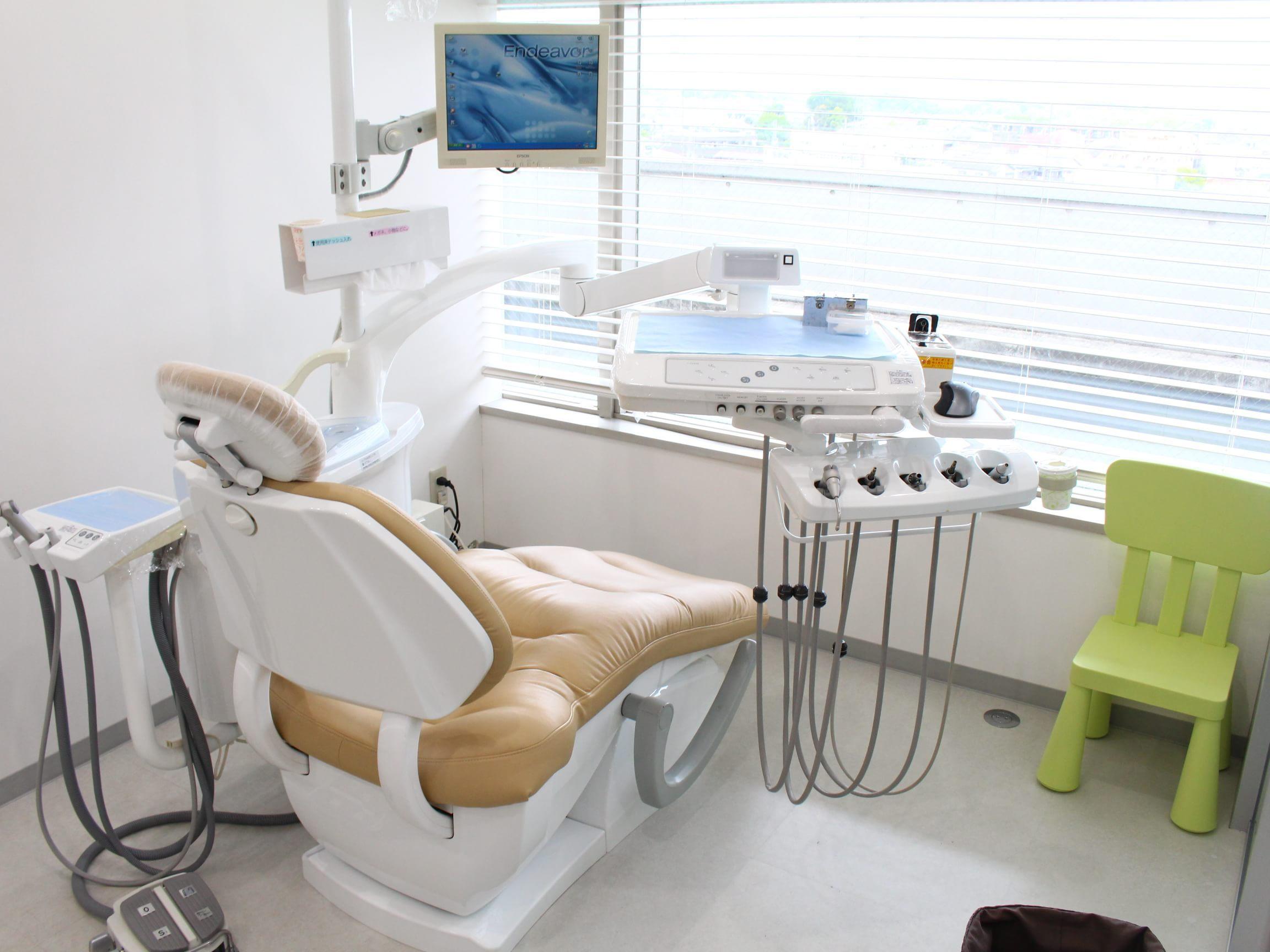 和光市駅 南口徒歩 1分 和光市歯科の治療台写真2