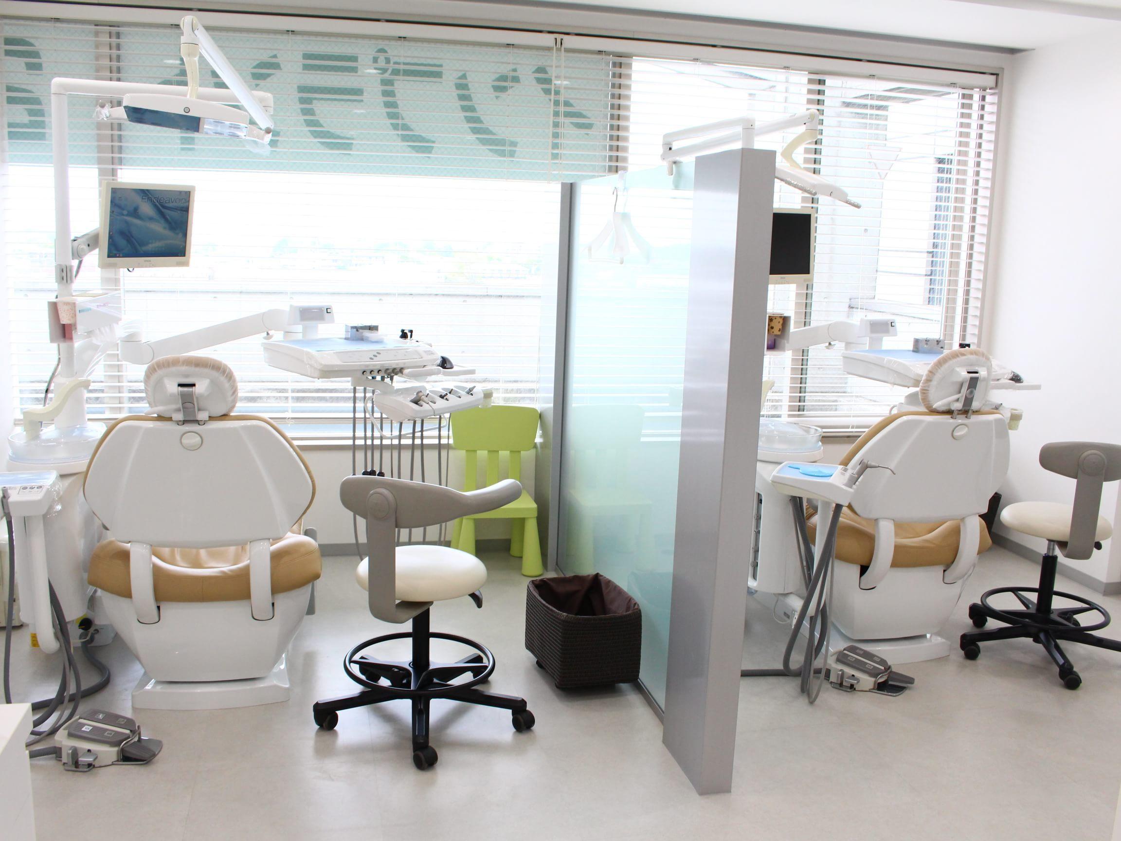 和光市駅 南口徒歩 1分 和光市歯科の治療台写真4