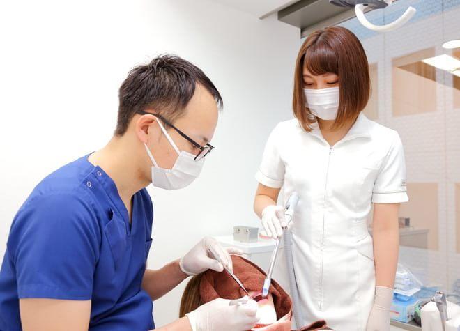 歯科医師・歯科衛生士ともに担当制を採用!ささいな変化にも気づく