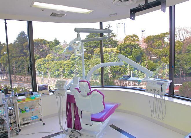 品川駅 無料シャトルバス 2分 ナムラ御殿山ガーデン歯科の治療台写真3
