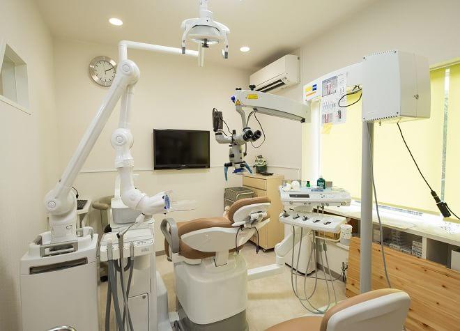 赤間駅 北口徒歩 10分 いながき歯科の治療台写真6