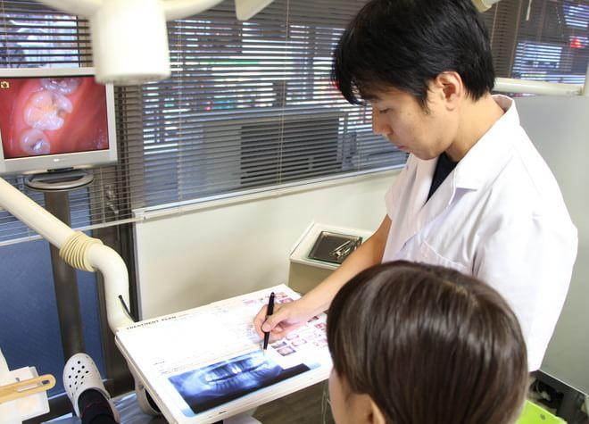 ヒロ歯科クリニックの治療説明風景
