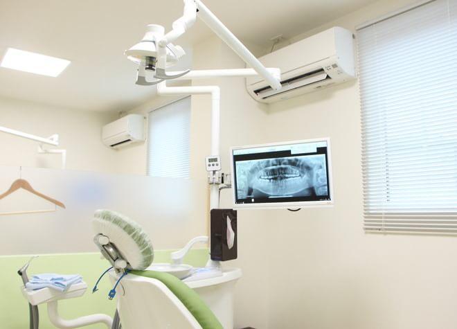 法界院駅 出入口徒歩 12分 かすやま歯科クリニックの治療台写真3