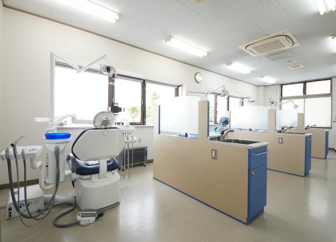陸前山王駅 出口車3分 ありま歯科医院の治療台写真6