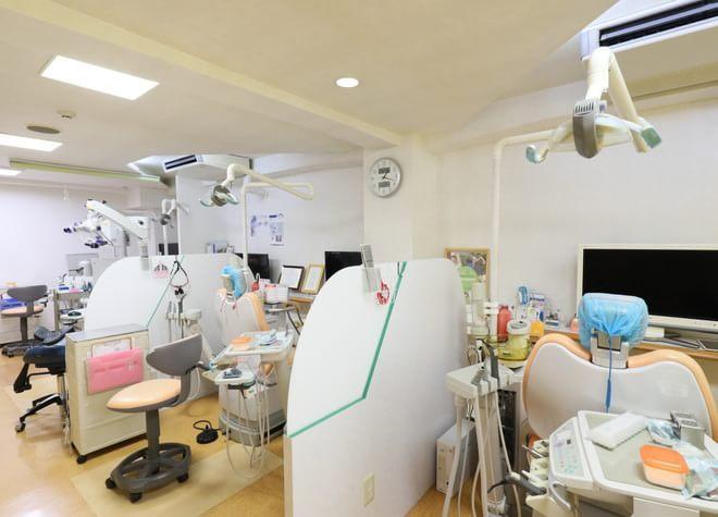 船橋駅 北口徒歩 5分 もりやま歯科の治療台写真7
