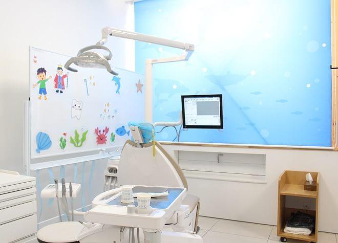 新琴似駅 出口車8分 医療法人社団千仁会 ちだ歯科クリニックのちだ歯科クリニックの子供用診療スペース写真3
