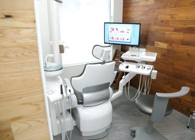 新横浜駅 JR篠原口徒歩 2分 はば歯科クリニック新横浜の治療台写真2