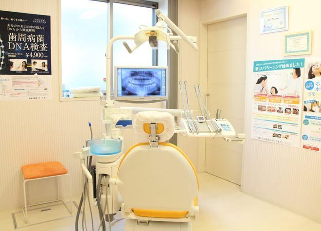 川口駅 東口徒歩 13分 おおぬま歯科クリニックの治療台写真2