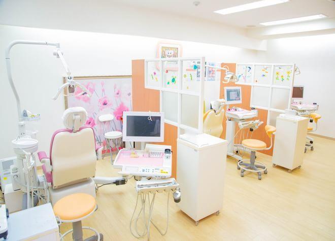 光明池駅 出口徒歩 2分 のはら歯科クリニックの治療台写真3