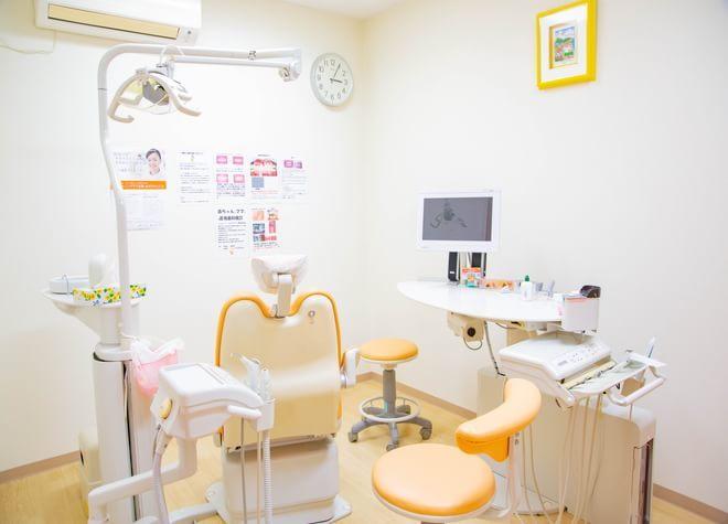 光明池駅 出口徒歩 2分 のはら歯科クリニックの治療台写真4