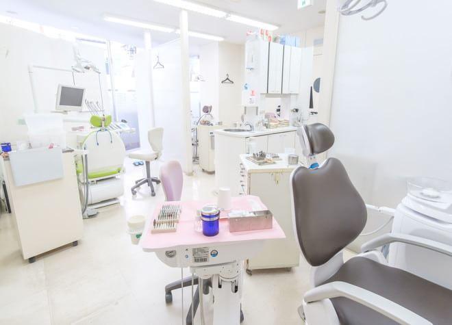 立川駅 南口徒歩5分 たにざわ歯科クリニックの治療台写真2
