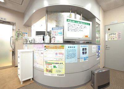 桃谷駅 出口徒歩12分 たつの歯科の院内写真5
