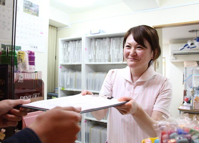小平駅 南口徒歩 4分 高村歯科医院の受付の風景写真2