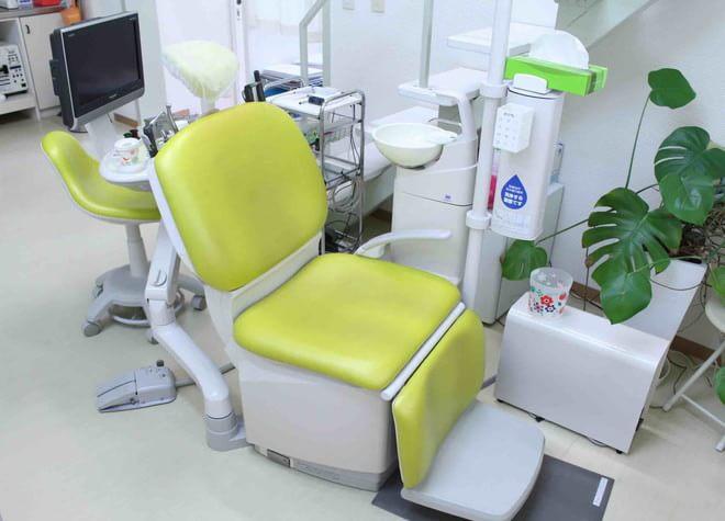 大浦海岸通り駅 出口徒歩 1分 かがり歯科クリニックの治療台写真2